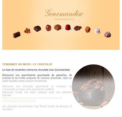 Gourmandise Mois de Chocolat